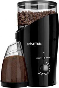Gourmia GCG185 Electric Burr Coffee Grinder