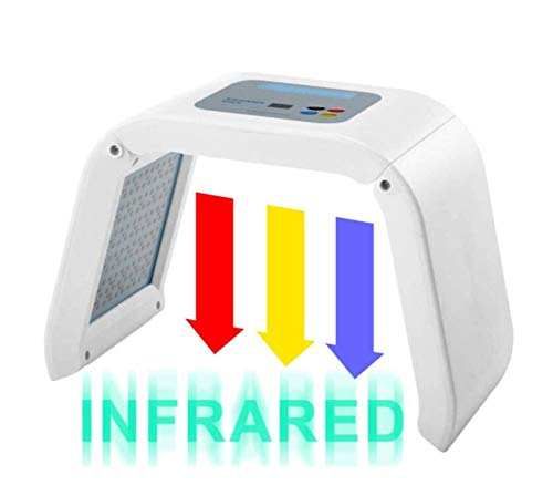 HydraskincarePro 3 Color LED Face Photon Red Light Therapy