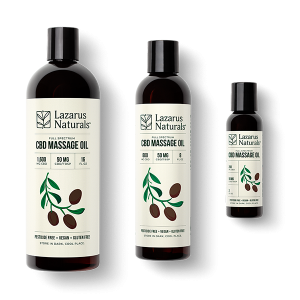 Lazarus Naturals CBD Massage Oil