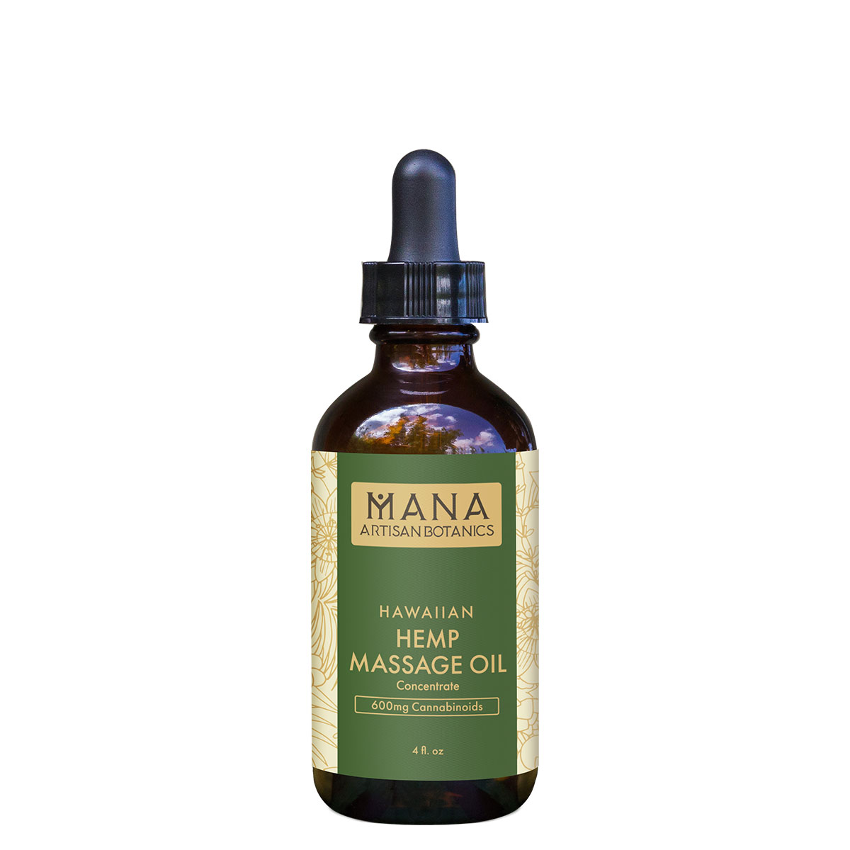 Mana Artisan Botanicals CBD Massage Oil