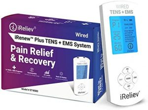 Premium TENS + EMS Pain Relief & Recovery