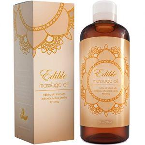 Pure Vanilla Sensual Massage Oil For Body