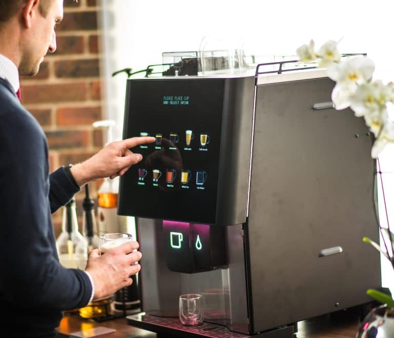 the most common coffee machines in the office