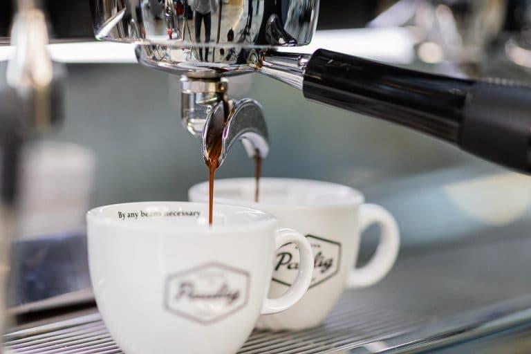 espresso coffee making